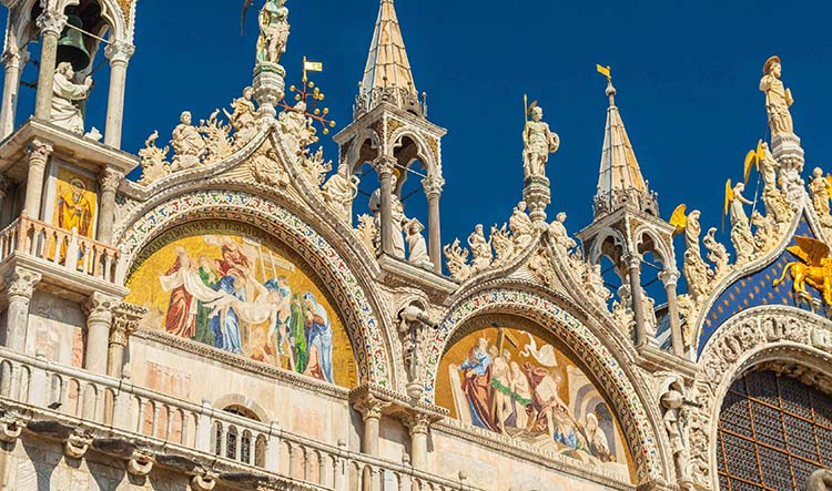 Front Wall of St Mark's Basilica