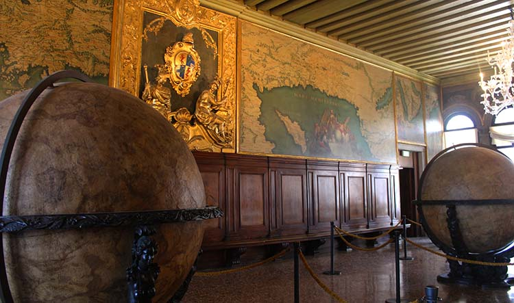 Map Room at Doge's Palace