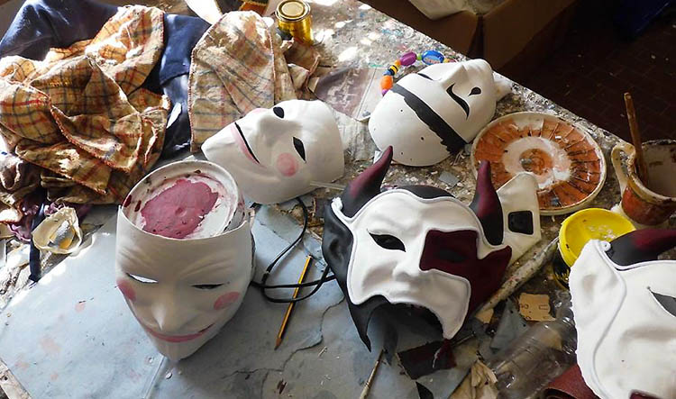 Mask Making Workshop - Unique Venice Private Tours